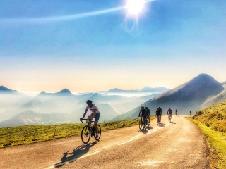 Cycling Haute Route Alps